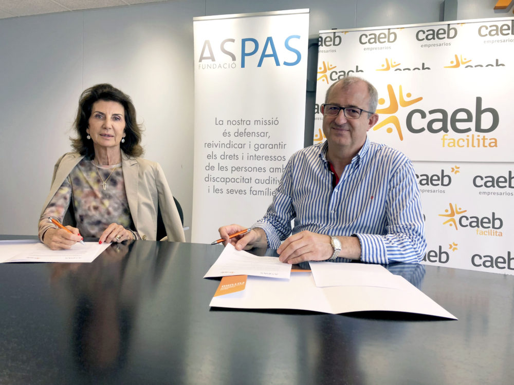 CAEB y ASPAS fomentan el empleo entre las personas con discapacidad auditiva
