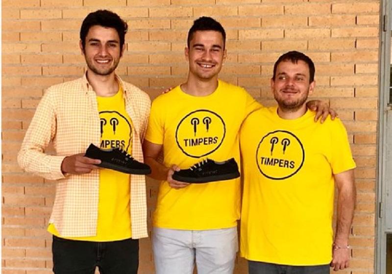 Timpers, zapatillas diseñadas por personas con discapacidad visual