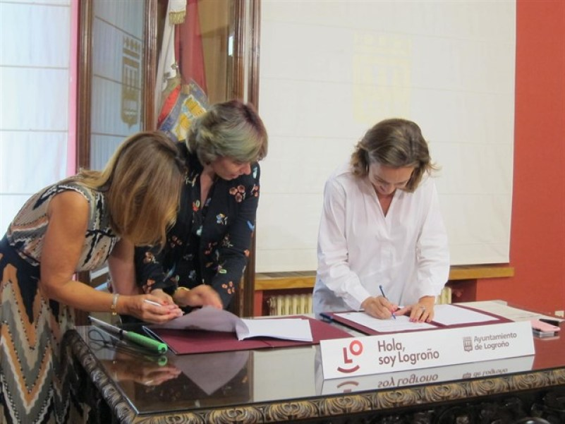 El Ayuntamiento de Logroño y la Fundación ONCE colaboran para impulsar la empleabilidad de las personas con discapacidad