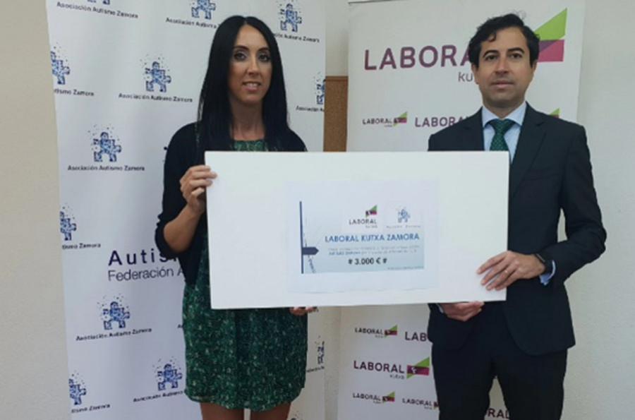 Laboral Kutxa comprometido con las personas con autismo de Zamora
