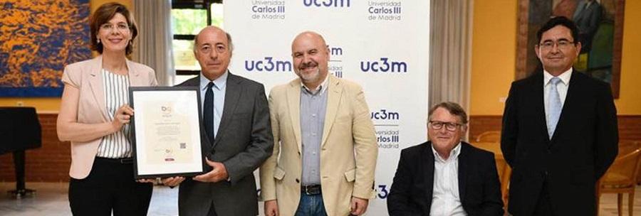 La UC3M recibe el Sello Bequal Plus