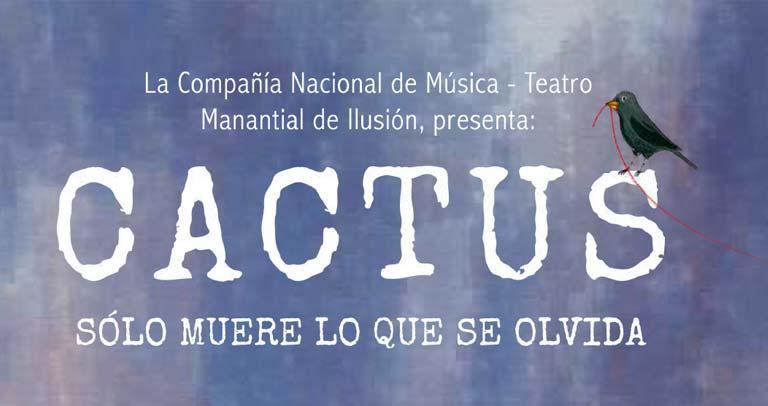 Actores chilenos con discapacidad intelectual ponen en escena Cactus