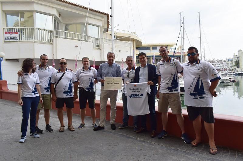 El Aldebarán, primera tripulación con discapacidad que competirá en la Copa del Rey de vela