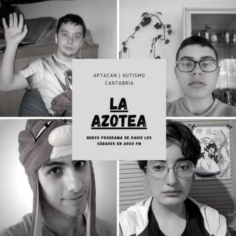Jóvenes de APTACAN crean su propio programa, La Azotea, emitido en ArcoFM