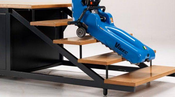 Roby, el dispositivo que garantiza la movilidad de personas en silla de ruedas