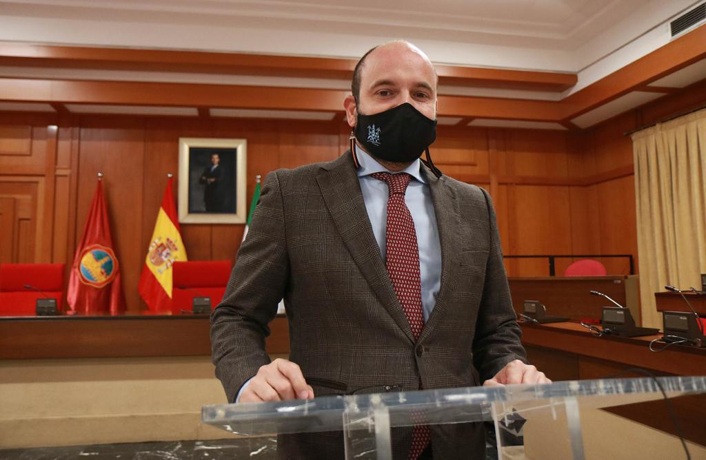 Bernardo Jordano, teniente de alcalde de Córdoba