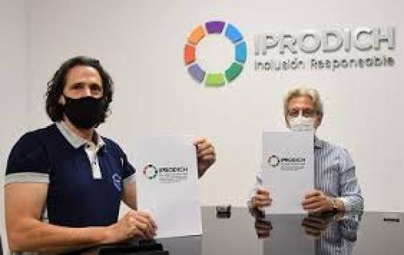IPRODICH y SAMEEP firmaron convenio para beneficiar a las personas con discapacidad