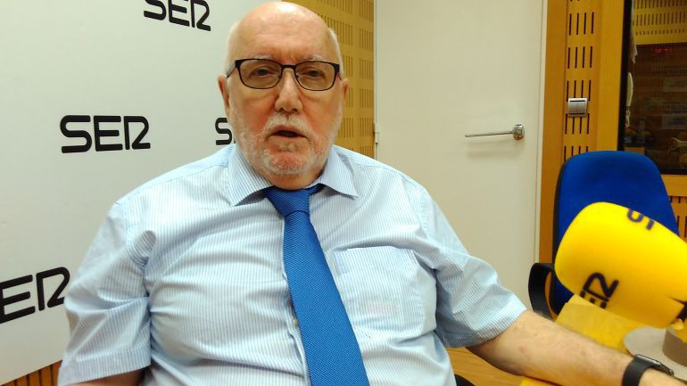 Manuel López Bernal, fiscal superior saliente de la Región de Murcia. / Cadena SER