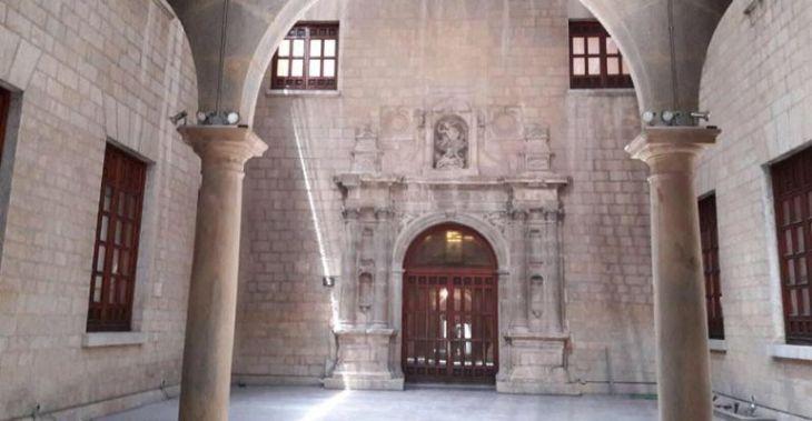 Esta es la nueva imagen del patio del Museo de Jaén | Radio Jaén ...