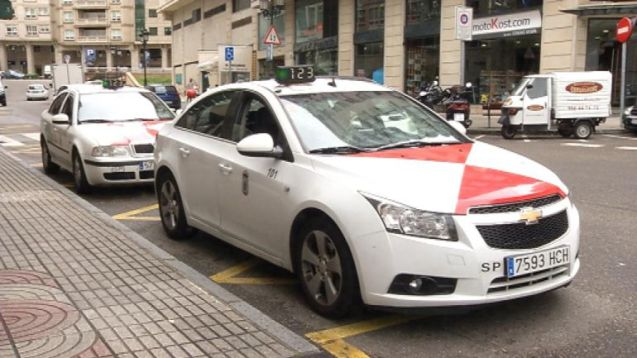 Resultado de imagen de taxi vigo