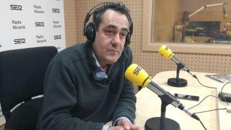 José Angel Espinós, presidente de la Federación de Sociedades Musicales de la Comunitat Valenciana (FSMCV) en Alicante