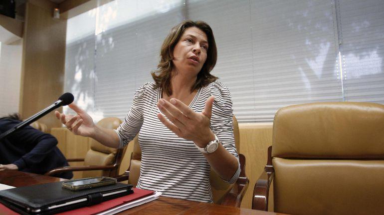 La exconsejera de Educación y Empleo, Lucía Figar