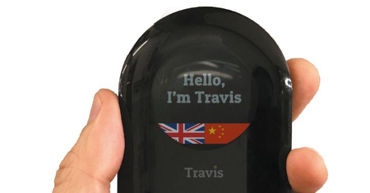 Resultado de imagen para traductor simultáneo que cabe en un bolsillo