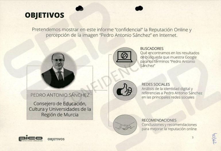 FOTOGALERÍA | Informe de la reputación online y la percepción de la imagen de Pedro Antonio Sánchez diseñado por la trama Púnica