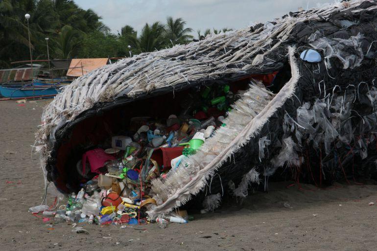 Resultado de imagen para isla de plástico
