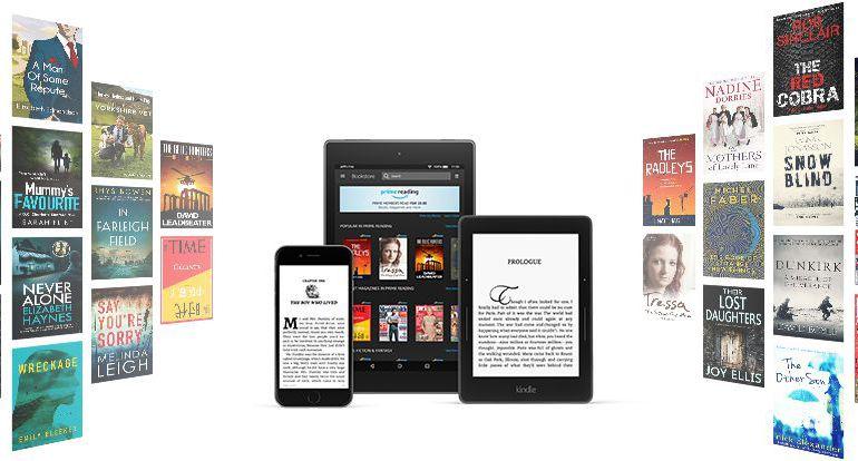 Libros autopublicados en Amazon