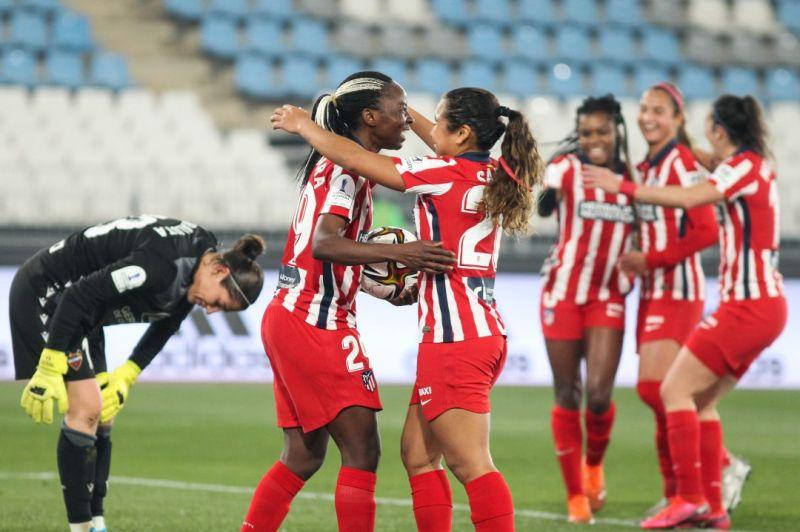 Festival de goles en la Supercopa de España femenina con color rojiblanco |  Carrusel Deportivo | Cadena SER