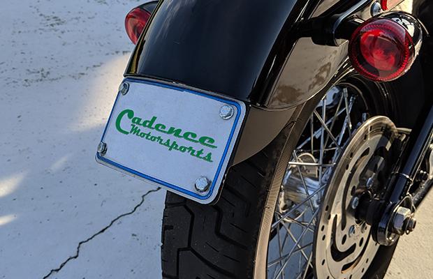 Cadence Motorsports 2020 Softail Standard Tag Mount