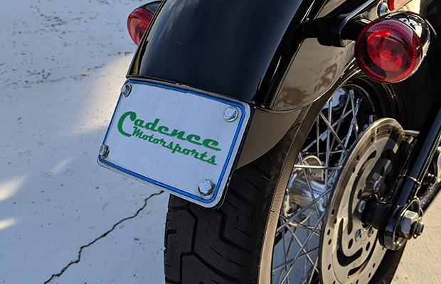 Cadence Motorsports 2018 Softail Slim Tag Mount