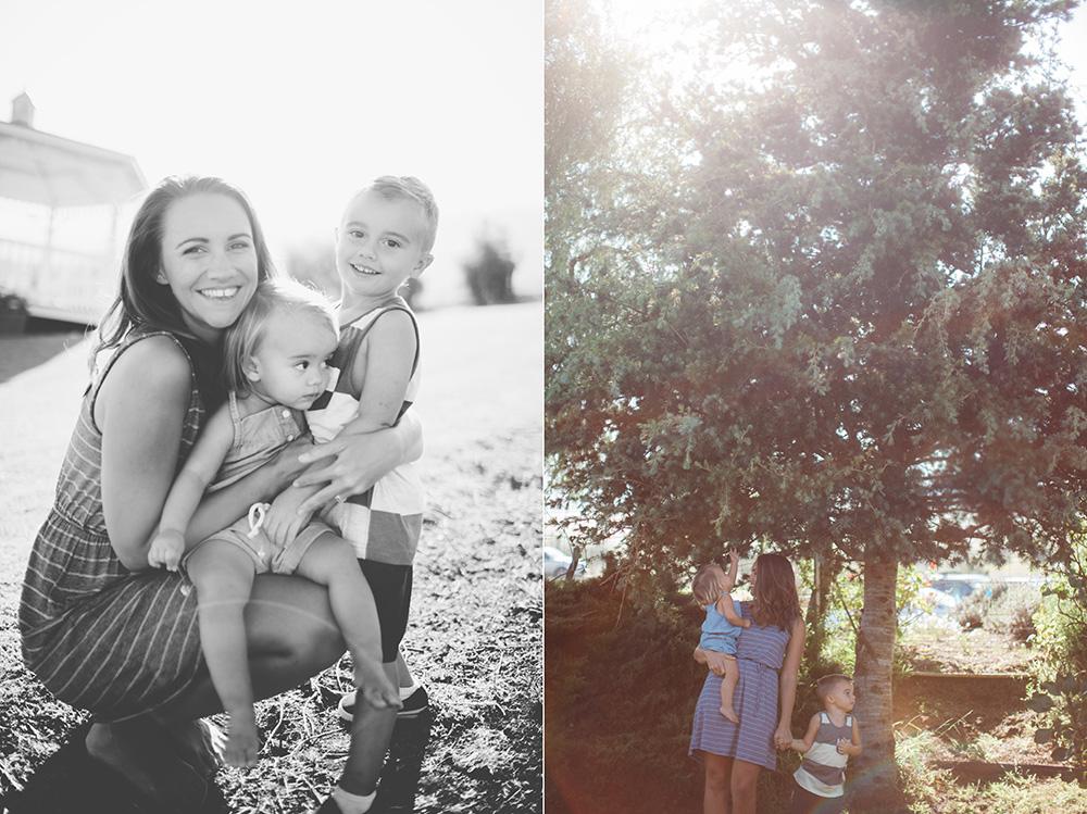 maui family photography at the lavender farm by cadencia photography.