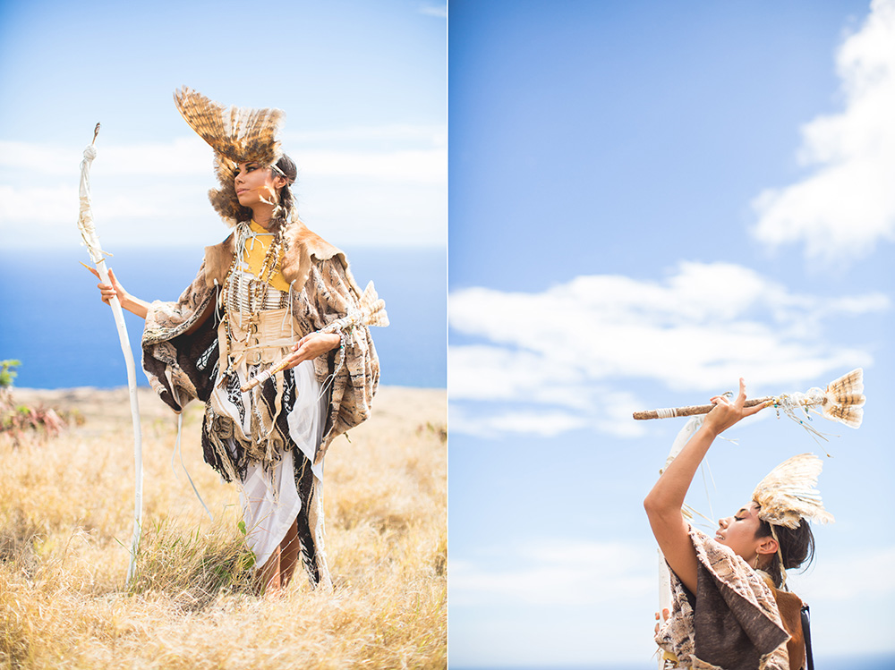 a tribute to the pueo, the hawaiian owl, photographed by cadencia photography