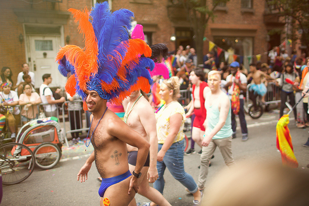 parade at NYC pride
