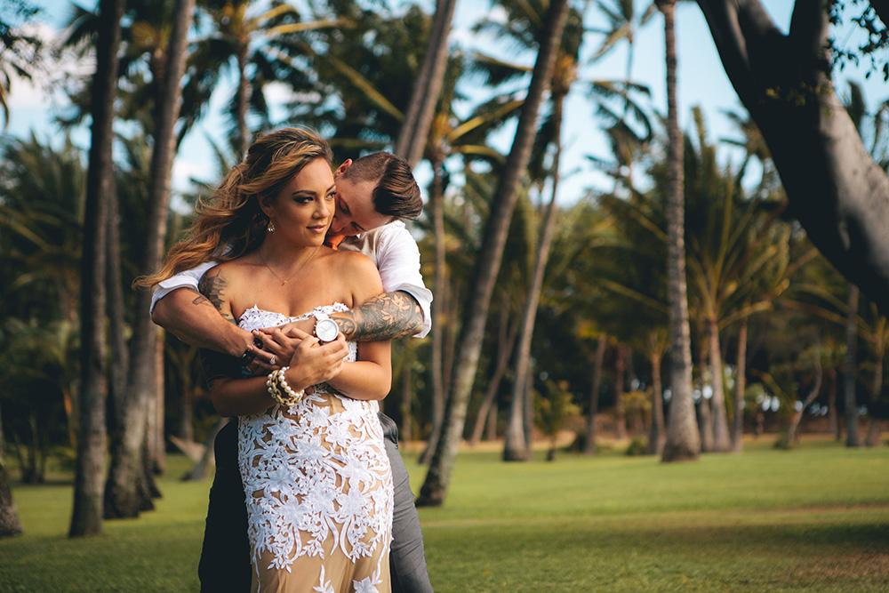 a beautiful wailea wedding photographed by cadencia photography.