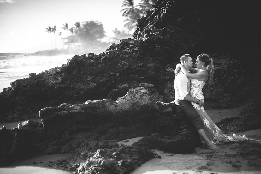 beautiful wailea wedding by cadencia photography on Maui.
