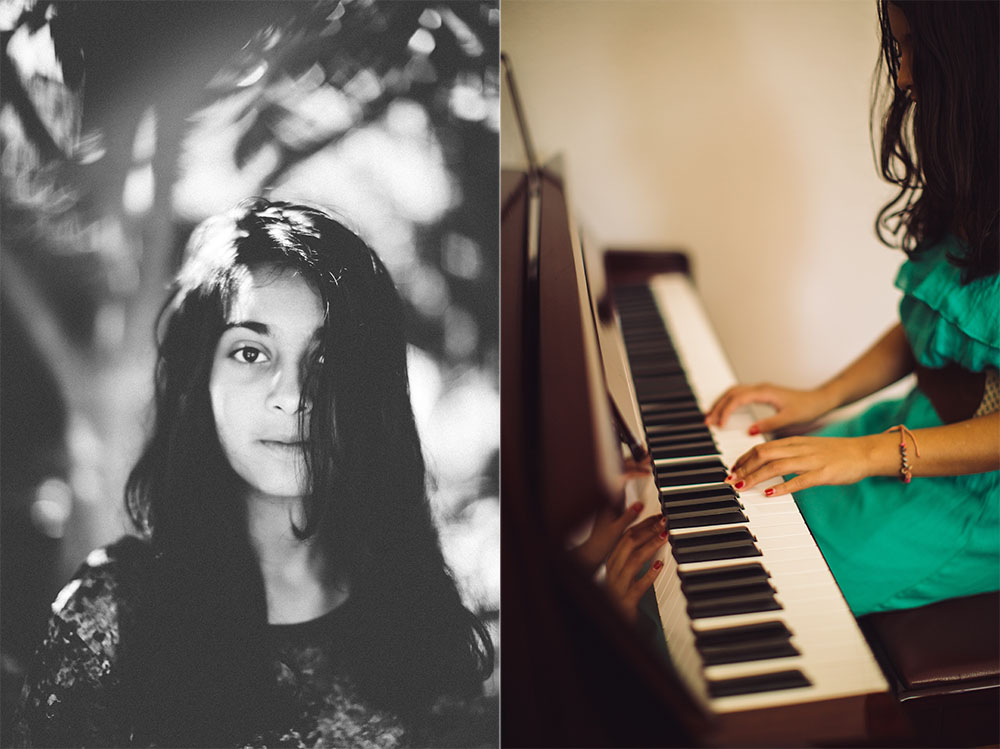ananyaD is a teenage song-writer from California.