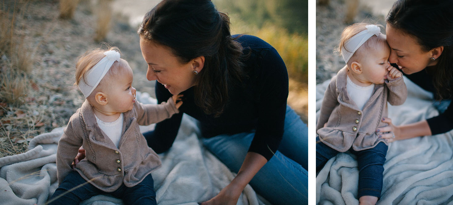 beautiful family portraits by cadencia photography at phoenix lake.