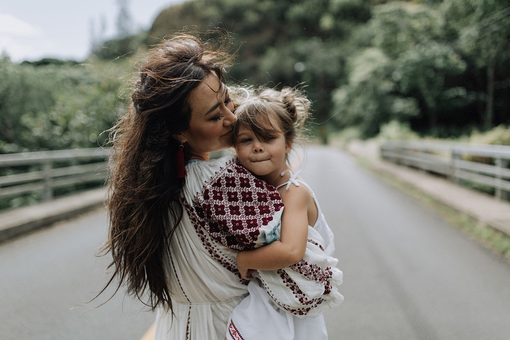 iao valley family photos of meili autumn by cadencia photography.