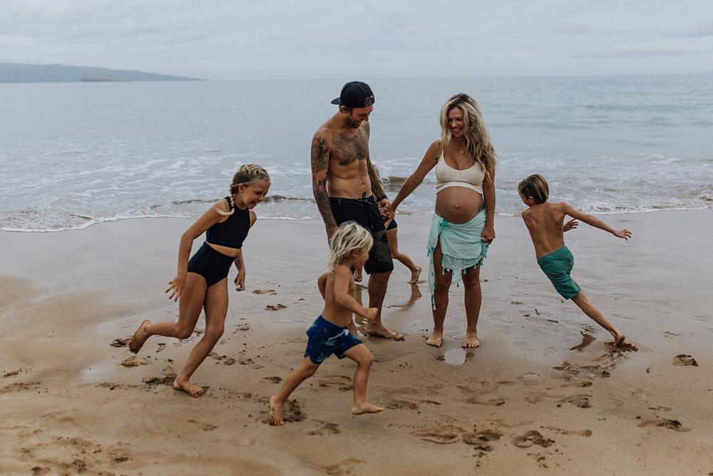family and maternity in wailea maui
