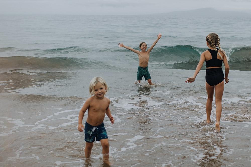 beach photos in wailea
