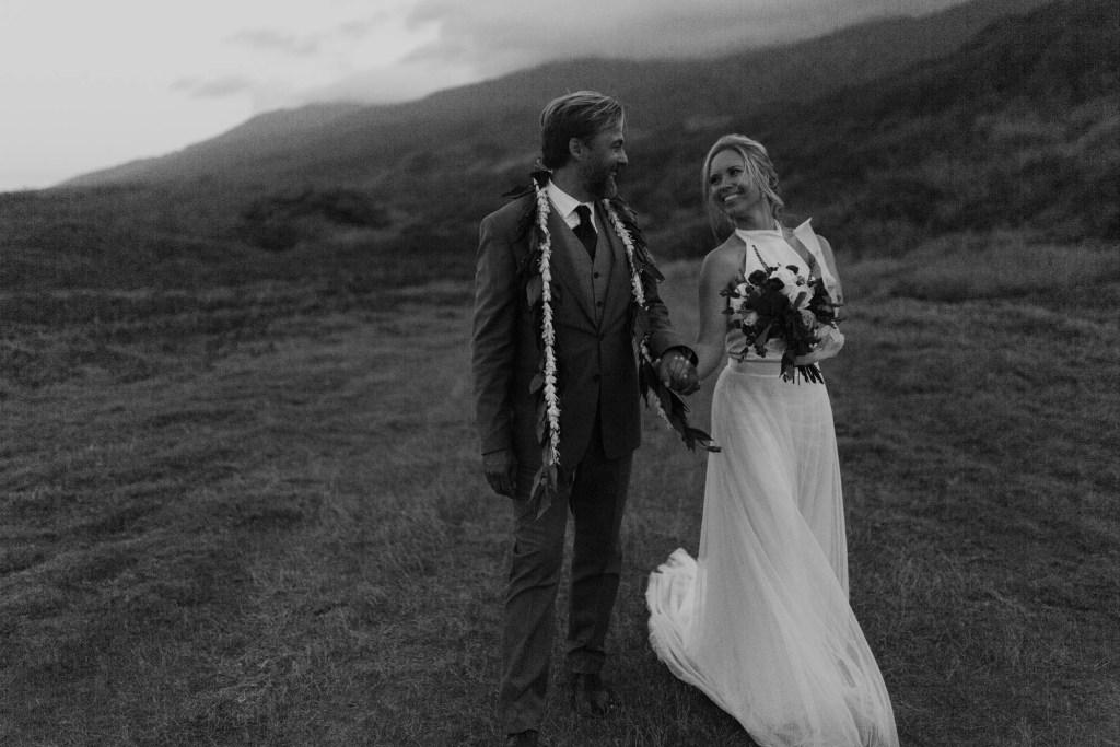 Waihe'e Coastal Dunes wedding photo