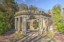 Old Conservatory at Warley Place