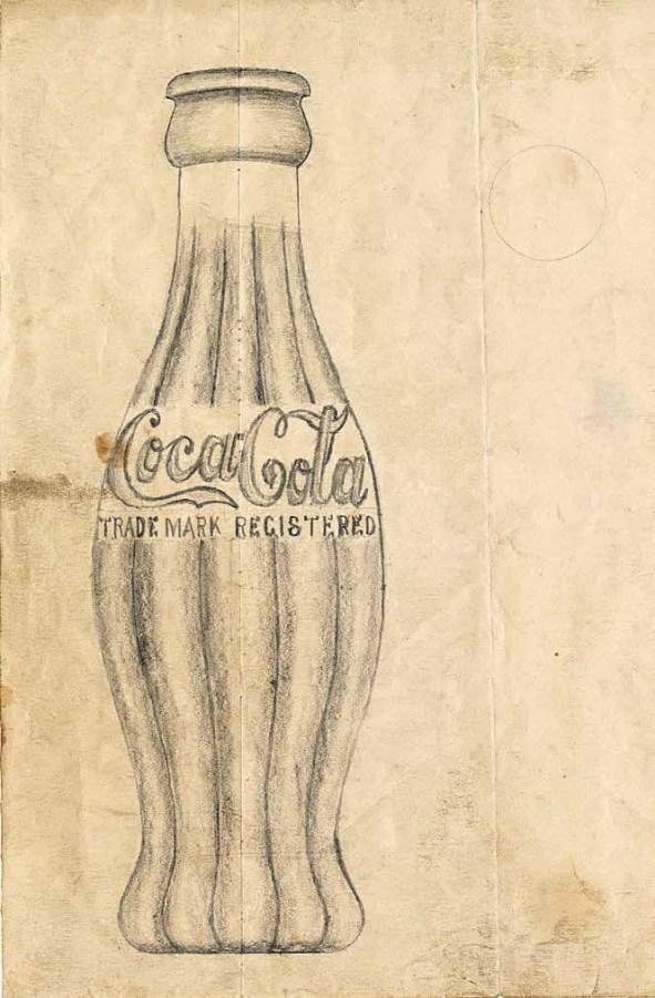 Rascunho original por Earl R. Dean, 1915