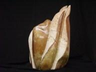 Gámeta Brecha da Arrábia e mármore 26 x 20 x 44 cm 2009 Colecção privada