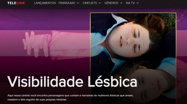 telecine visibilidade lesbica