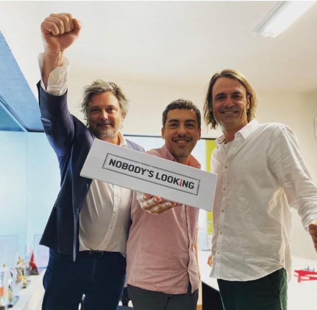 Fabiano Gullane, Daniel Rezende e Caio Gullane. Crédito Divulgação_Easy-Resize.com