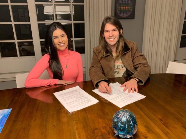 Dudu Surita e Manu Cabanas desejam gravar com Juliette do Big Brother Brasil