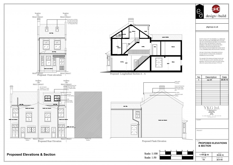I will draw professional Loft Conversion drawing designs