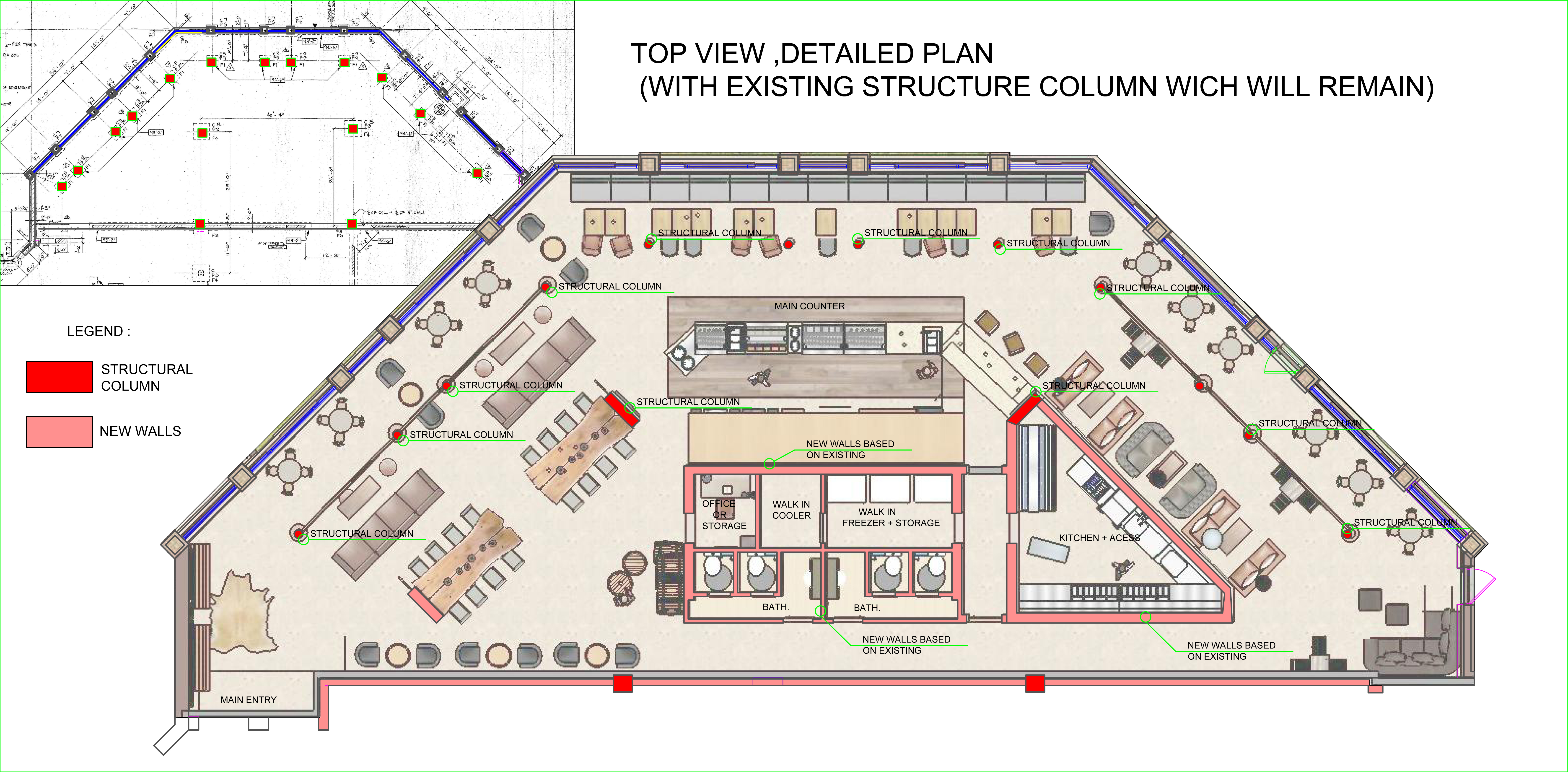 I Will Do Your Loft Conversion 2d Architectural Floor Plans in