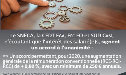 Négociations Annuelles Obligatoires 1ère étape branche FNCA