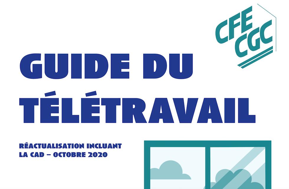 Guide du télétravail CFE-CGC à destination des militants