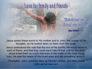 Mary and Jesus and John