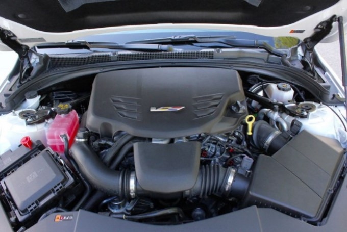 2020 Cadillac ATS Coupe Engine