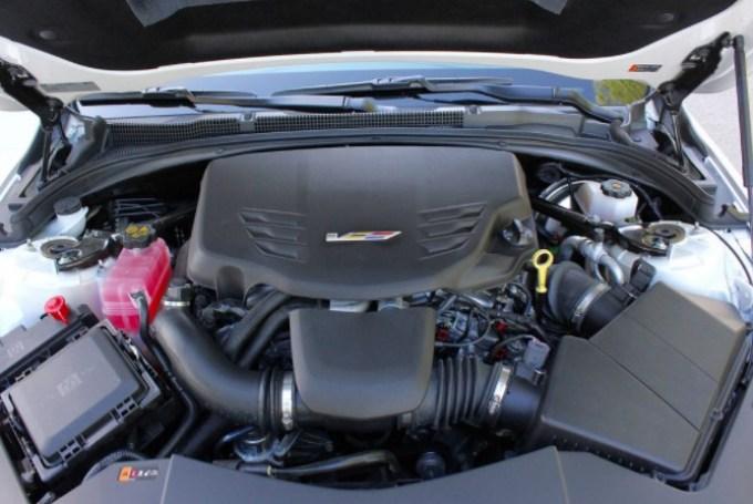 2019 Cadillac ATS Engine