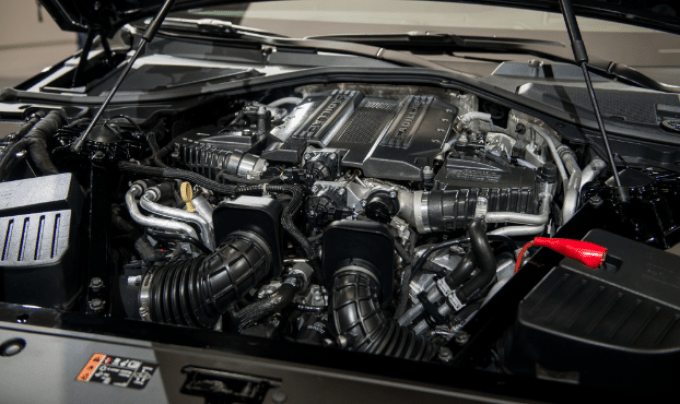 Cadillac 2019 CT6 Engine