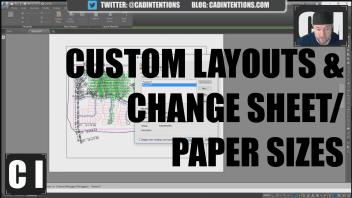 Autocad Sheet Size