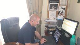 Manuel Chacón participa en videoconferencia sobre planes provinciales